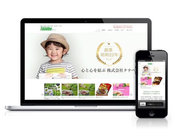 Tanabe WEBサイト